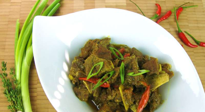 CURRIED GOAT