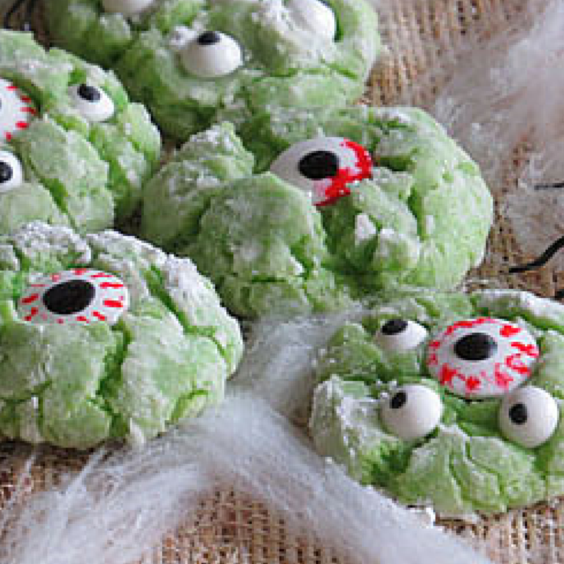 Monster Eyed Cookies